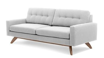 True Modern Sofa via Retro Renovation Blog# mid century