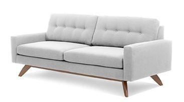 True Modern Sofa via Retro Renovation Blog# mid century