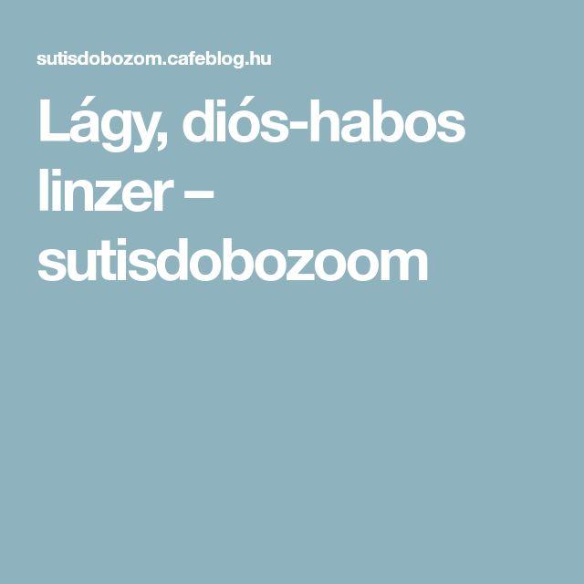 Lágy, diós-habos linzer – sutisdobozoom