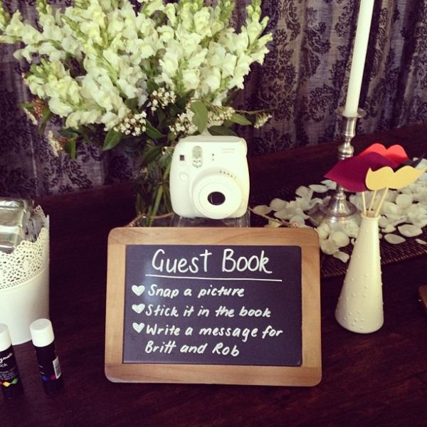 Polaroid Guest Book by Make Your Day Wedding Styling