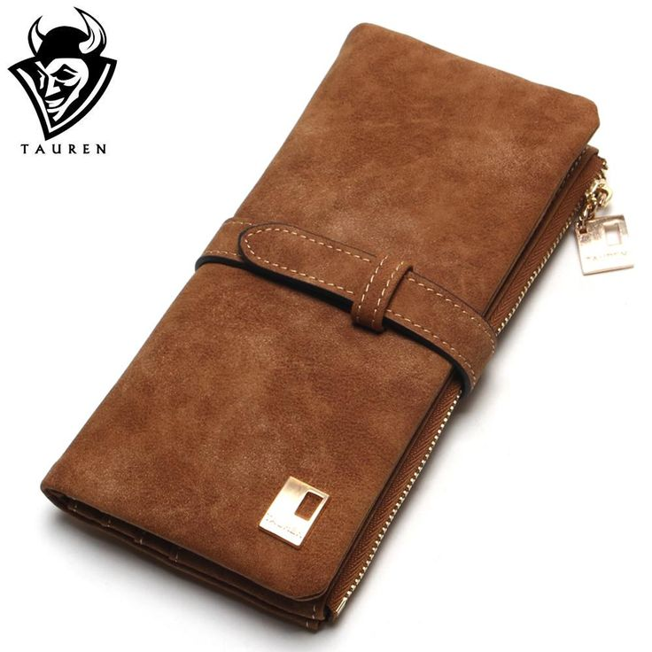 Nubuck Leather Zipper Wallet //Price: $38.99 & FREE Shipping //     #classybags