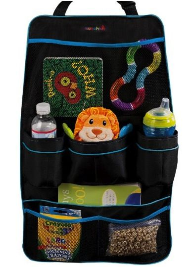 Munchkin Backseat Car Organizer for Kids!!  {organize your car, or get ready for that road trip!}