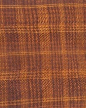Checkered fabrics are gaining ground in the Early Iron Age. Huldremose woman from Jutland wore a checkered scarf that here shown in cross-section.