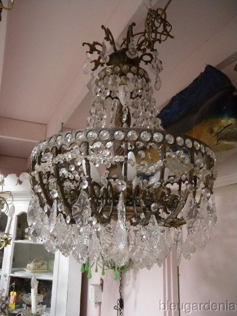 Luminary Loveliness Chandeliers Ceiling Lights Antique French Crystal Ball Room Chandelier