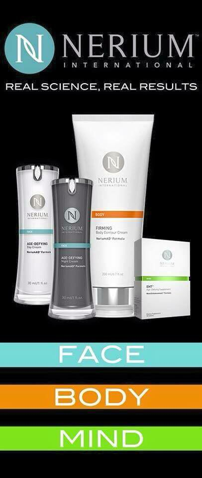 Beauty now has Brains...and Nerium has the patent. For additional information visit dmcarrere.theneriumlook.com
