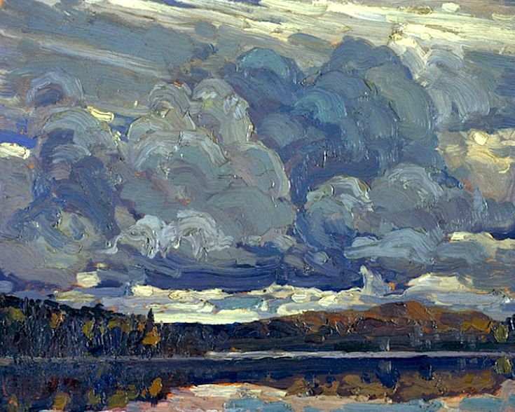 ALONGTIMEALONE: bofransson: Grey Sky Tom Thomson 1914