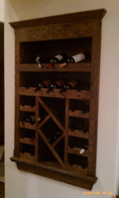 Nice Built In Wine Rack Kitchens Pinterest