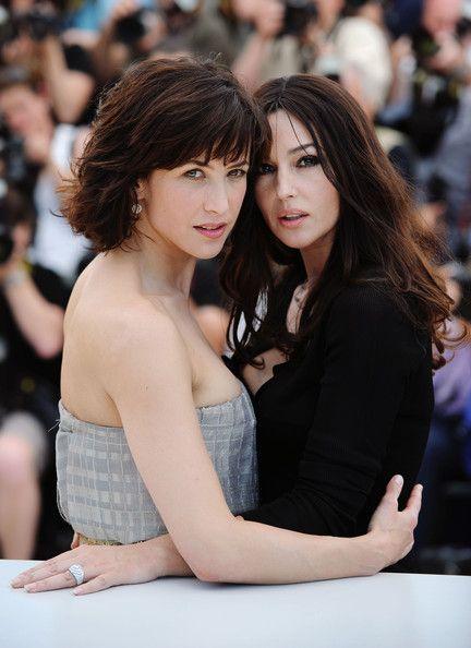 Sophie Marceau and Monica Bellucci - 2009 Cannes Film Festival