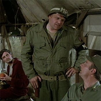 "Brian Dennehy {Famous Actors From MASH} Dennehy always makes for a good authority figure, even way back as M.P. Ernie Connors in ""Souvenirs,"" episode 22 of season five.:"