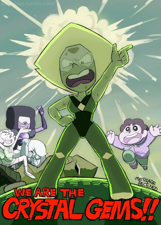 You go Peridot!