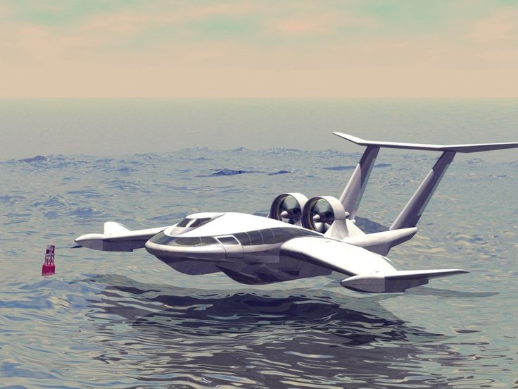 Wing in Ground Effect (WiGE) vehicle, with maritime deployment in mind (possible SOAR applications).