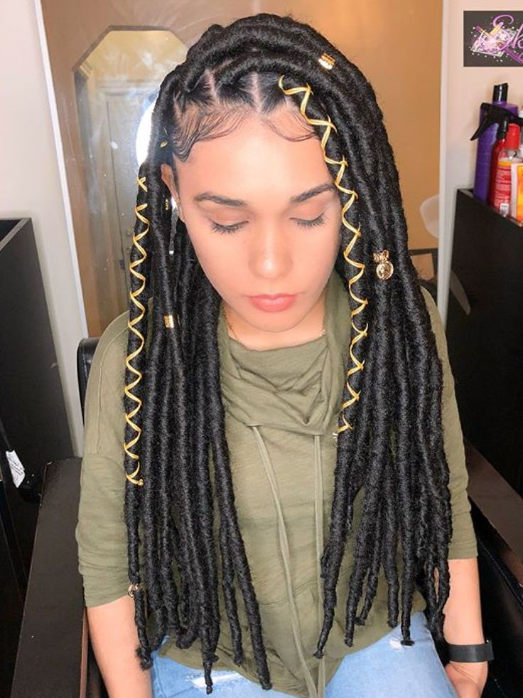 Pin By Tish On Fauxxx Locs  Faux Locs Hairstyles