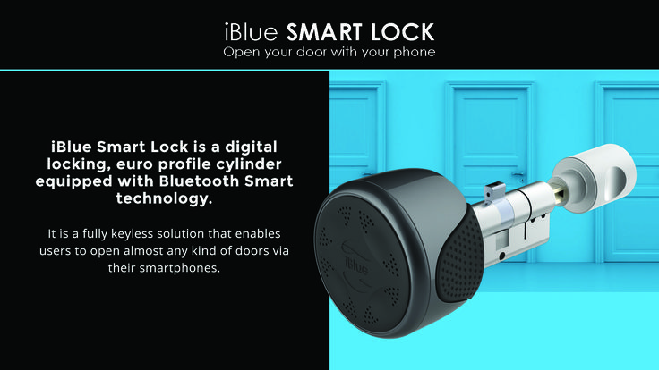 Let me introduce the latest development of the iBlue. SMART LOCK! Smart Lock have replaced physical keys, which are an especially critical aspect of the general concept of security available. This product consist of hardware and software components. With their help you can open and close your doors to your home and house from your smartphone. The use of these products is extremely simple and does not require any other accessories.
