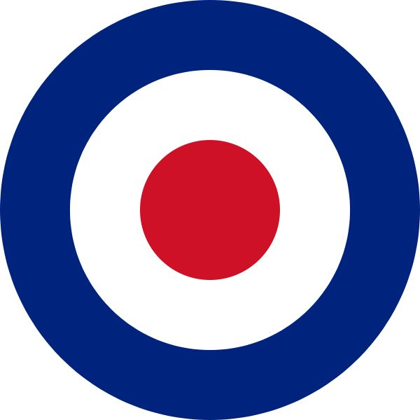 Research & Inspiration:The Royal Air Force roundel, a mod symbol in the 60s