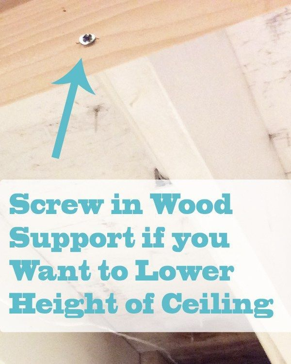 Diy Beadboard Ceiling In Wood Support