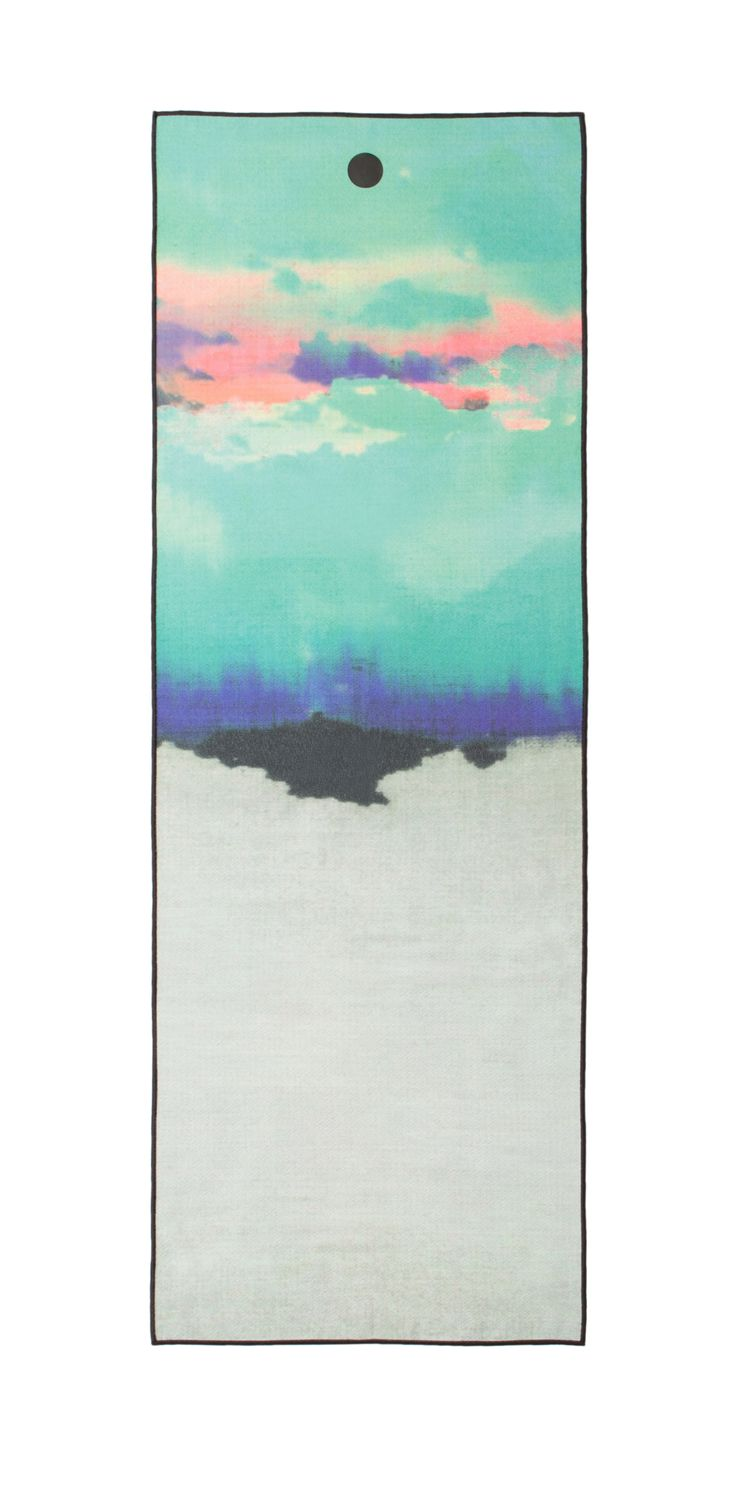 Inspired by nature. Cloudbreak yogitoes Mat Towel.