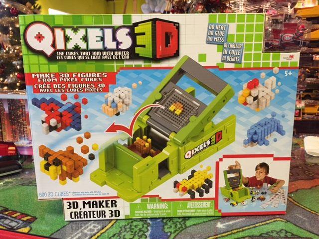 Qixels 3D, La Boîte du CRÉATEUR avec +30 figures à construire. Jeu de construction. Détaillant à St-Sauveur, La Boîte à Surprises de Nicolas. Plaisir assuré!