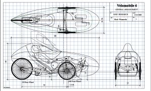 How to Build a Velomobile | ... velomobile. This is not the final plan he used to build the velomobile