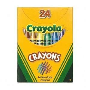 Current Crayola crayon box