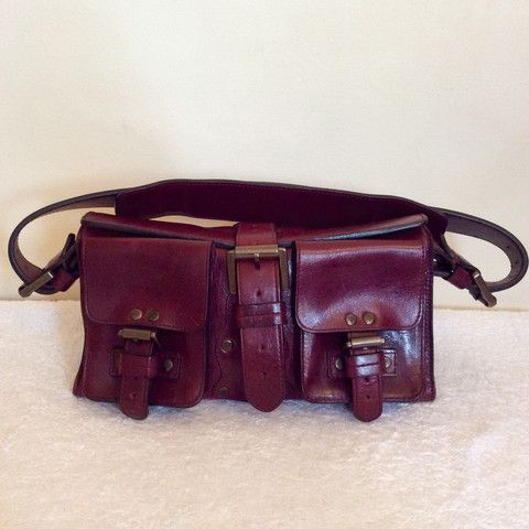 MULBERRY OX BLOOD LEATHER BLENHEIM BAG - Whispers Dress Agency - Shoulder Bags - £150
