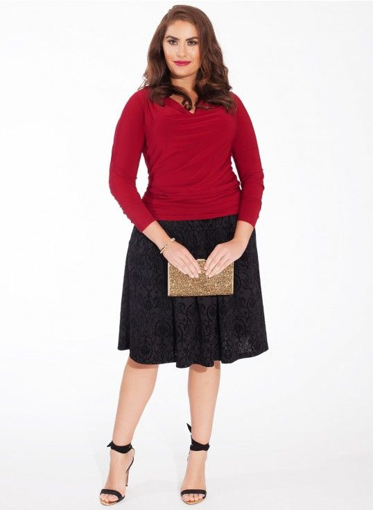1000+ images about Plus Size Skirts on Pinterest