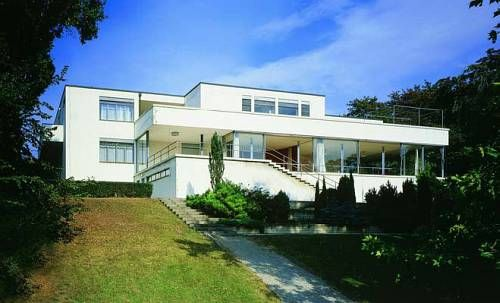Ludwig Mies Van Der Rohe Villa Tugendhat Built Between