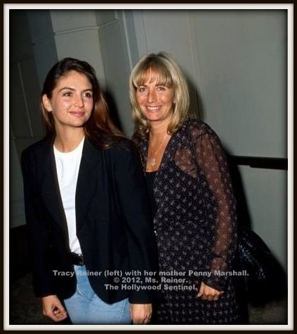 actress tracy reiner and her mom penny marshall - Google Search