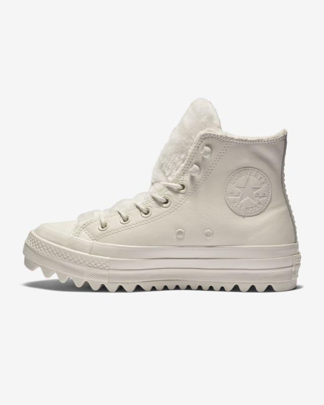 553df4d01640 Converse Chuck Taylor All Star Street Warmer Ripple High Top Boot Women s  Leather Boot