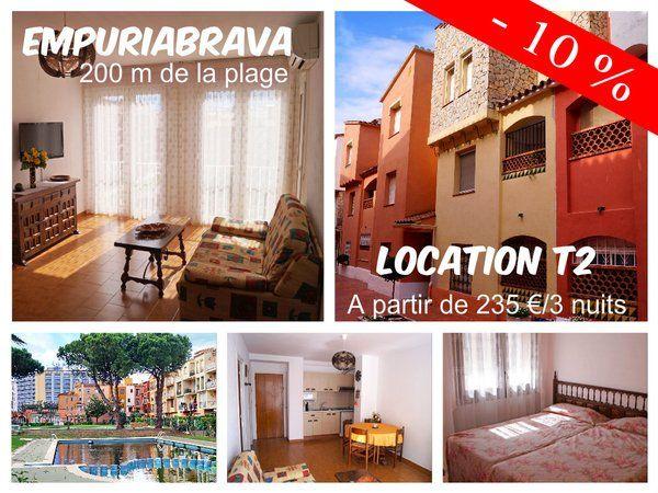 Appartement T2  4 couchages, à 200 m de la mer Réservez ICI --> http://irles-invest-immo.com/annonce/empuriabrava-location-appartement-t2-200-m-de-la-mer-4-couchages/