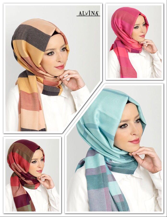 9522-2 Alvina Tesettür Şerit Şal www.alvinaonline.com'da, Üstelik KARGO BEDAVA! #alvina #alvinamoda #alvinaforever #hijab #hijabstyle #tesettür #fashion #şal #yenisezon