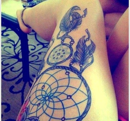 20 ELEGANT DREAMCATCHER TATTOOS   Tube Tattoo