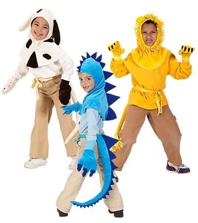 Con capuchas de animalitos puedes transformar cualquier atuendo en el disfraz perfecto para tus niños!