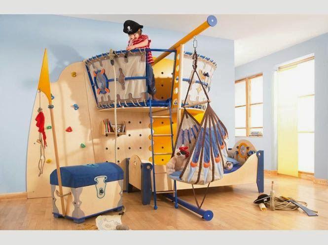 Spielecke und schlafplatz f r richtige piraten beispiele for Aufbewahrungsideen kinderzimmer
