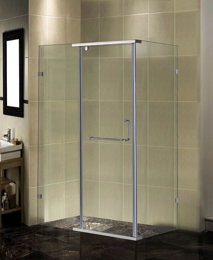 Semi-Frameless Rectangular Shower Enclosure | Products | Pinterest ...