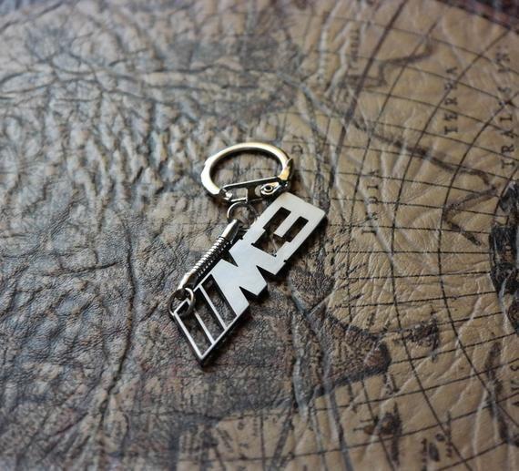 BMW M3 Keychain M3 Keyring BMW Key Tag Keychain for BMW M3 ...