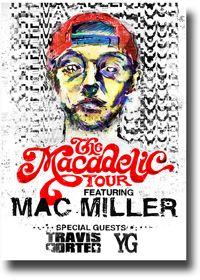 Mac Miller Poster – Macadelic Tour Promo Flyer 11 x 17 | Concert Poster