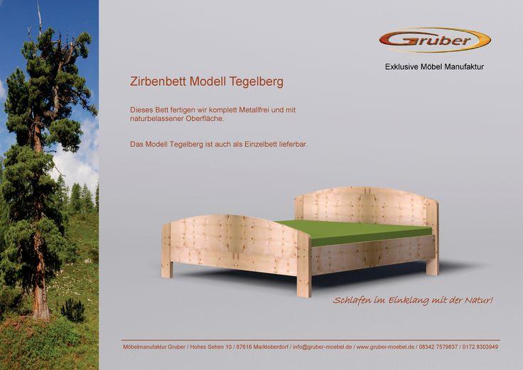 Zirbenbett Modell Tegelberg