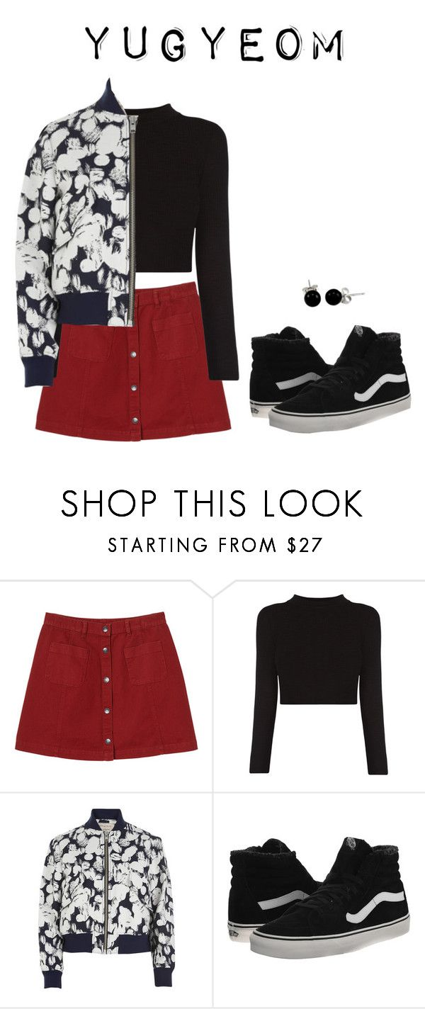 """""""Got7 Just Right car scene inspired (Yugyeom)"""" by got7outfits ❤ liked on Polyvore featuring Monki, Maison Kitsuné, Vans and Bling Jewelry"""