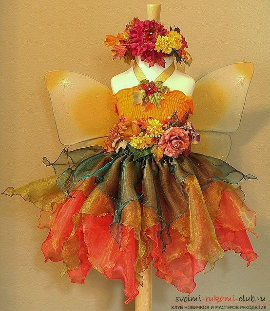 Костюм осени - красивый и оригинальный способ выделится на вечеринке в это время года 20 фотографий
