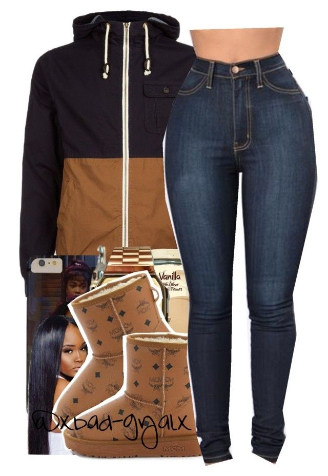 """""""$$$"""" by xbad-gyalx ❤ liked on Polyvore featuring G-Shock and MCM"""