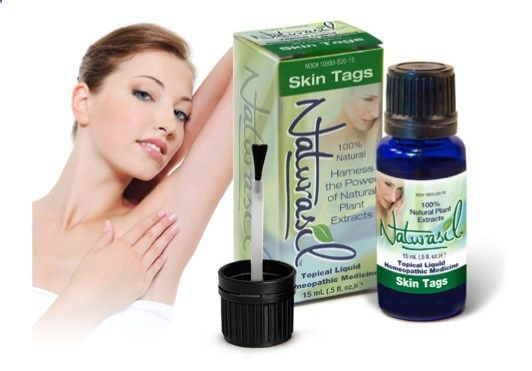 THE ORIGINAL NATURAL SKIN TAG REMOVAL Do away with unsightly Skin Tags painlessly! 100% natural and safe Naturasil Skin Tag Remover causes skin tags to dry up and flake away. No pain, scarring, or harsh treatments. FDA registered homeopathic medicine. 20%