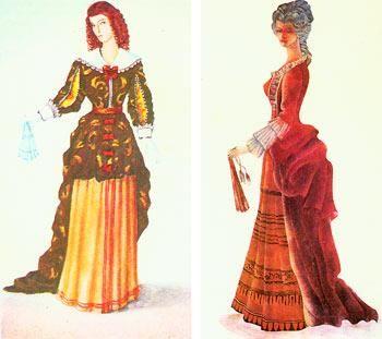 История костюма западной европы 17 столетия стиль барокко