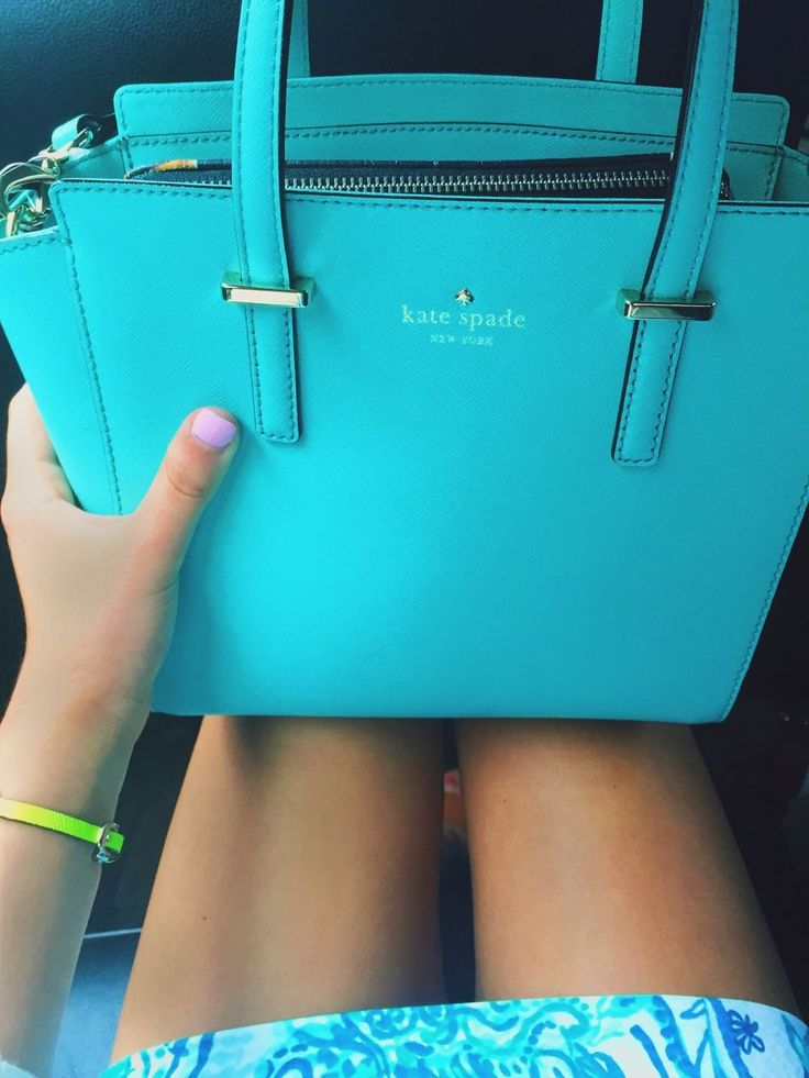 kate spade satchel with a Lilly Pulitzer dress and I'm in love