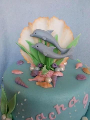 Prachtige dolfijnentaart