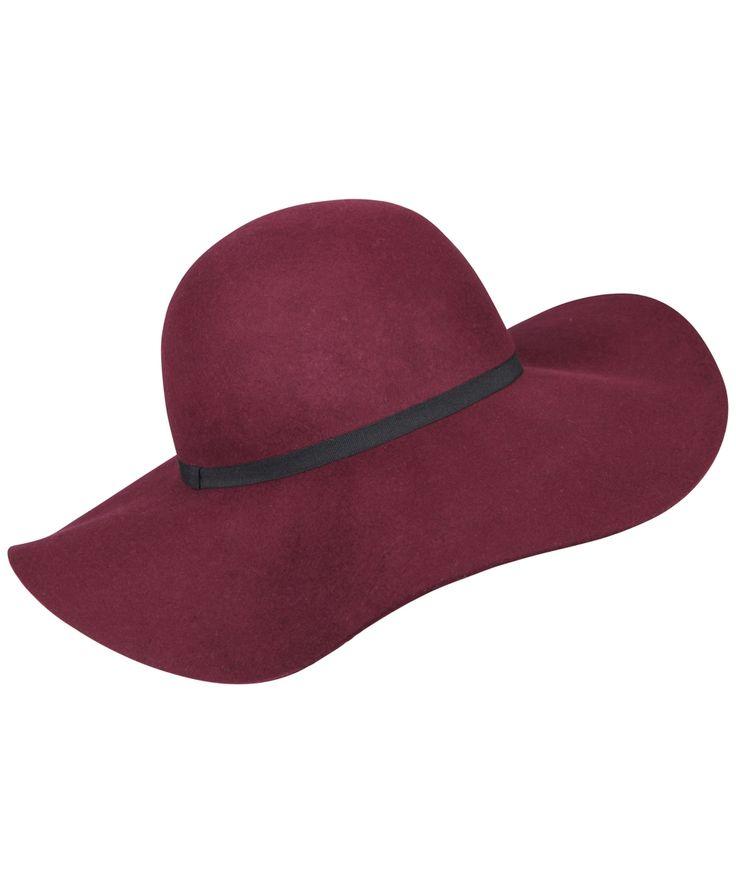 General Pants Co - Agent Ninetynine - Burgundy Miller Floppy Hat - $45.95