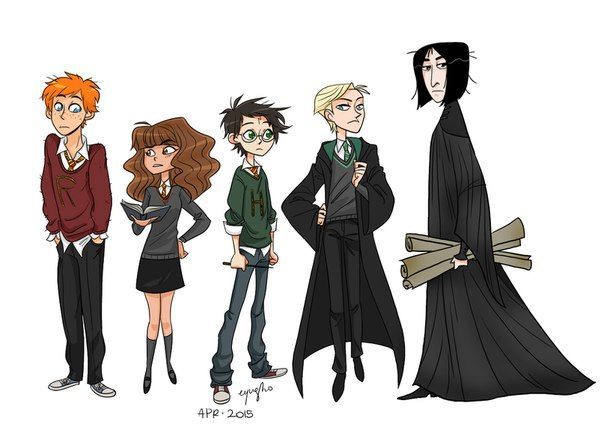 Harry Potter Character Art