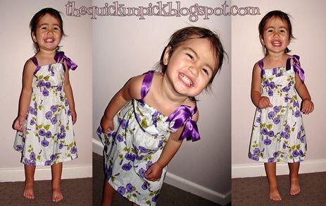 Pillow Case Dress variation for the older girlies...LOVE this variation!