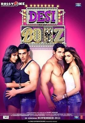 Desi Boyz  2011   Hindi Movie / Bollywood Film / Indian Cinema DVD  2 -ExLibrary