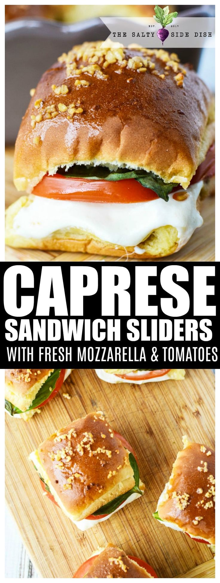 Caprese Sandwich Sliders