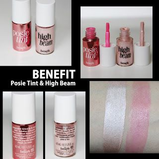 MichelaIsMyName: BENEFIT  Posie Tint & High Beam REVIEW